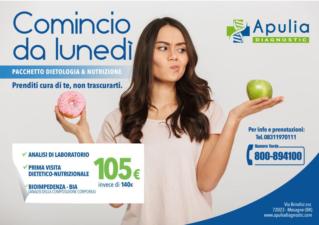 pacchetti nutrizione Apulia Diagnostic