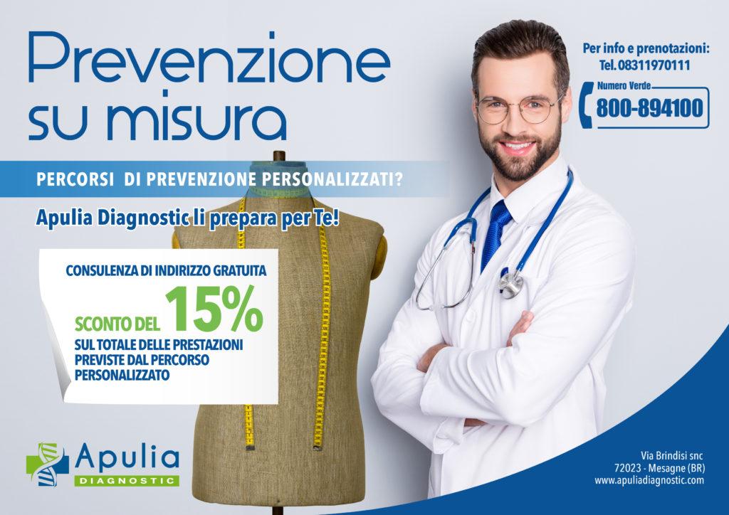 Prevenzione su misura da Apulia Diagnostic