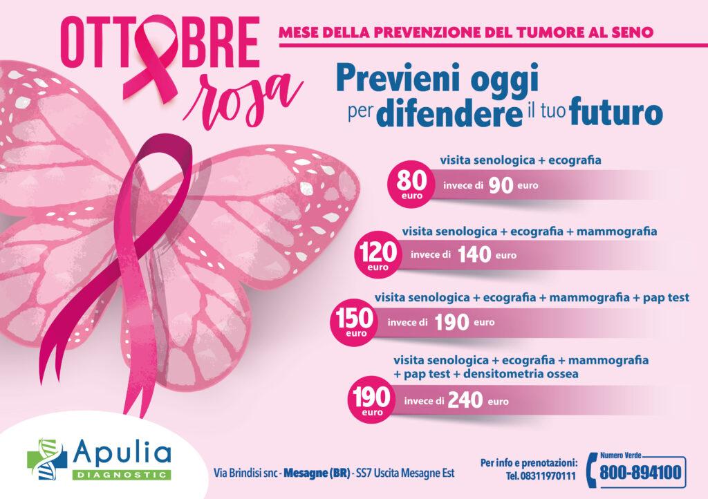 Ottobre Rosa • Mese della prevenzione del tumore al seno